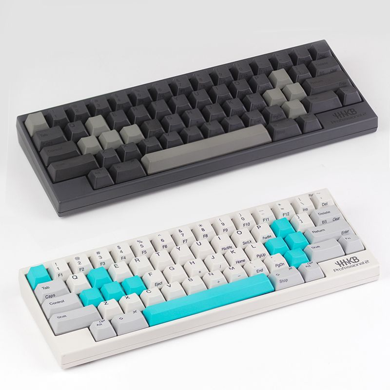 set for ESC W A S D or E S D F and arrow keys spacebar Topre realforce hhkb keyboard keycaps multicolour cap pbt material