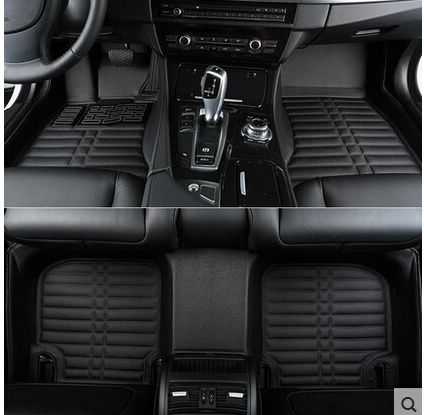 High quality! Custom special floor mats for Ford Kuga 2017 non-slip waterproof car rugs carpets for Kuga 2018-2013,Free shipping
