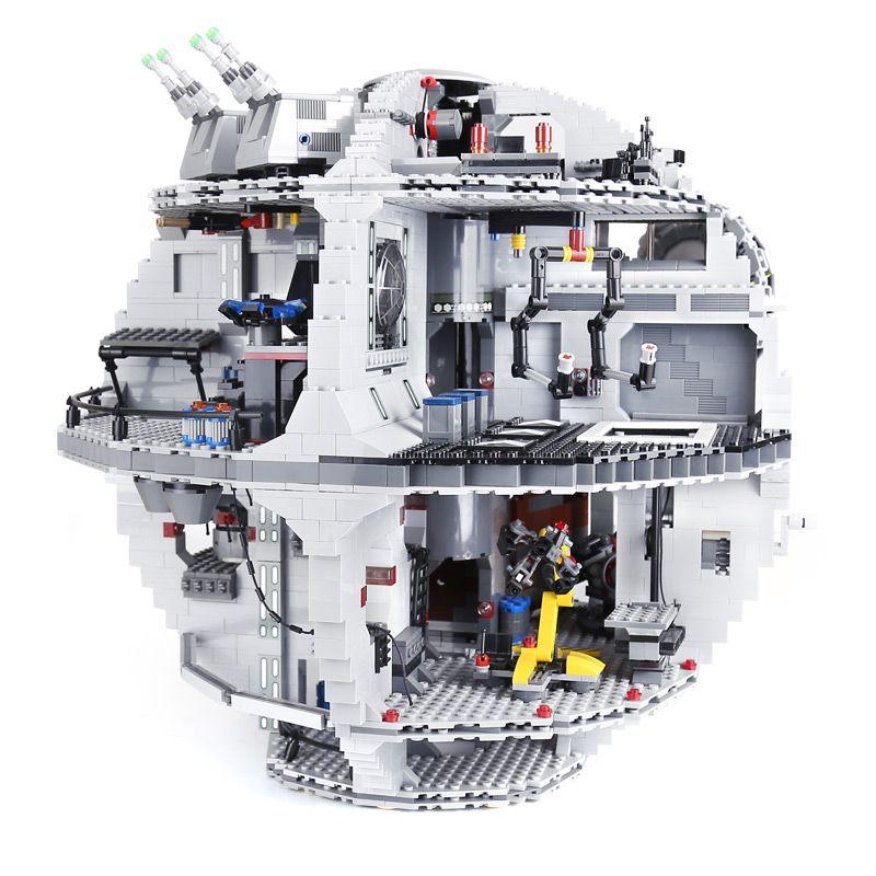 4016Pcs Lepin 05063 the Death UCS Star Building Block Bricks Toys Kits LegoINGlys 75159 for Children birthday gifts