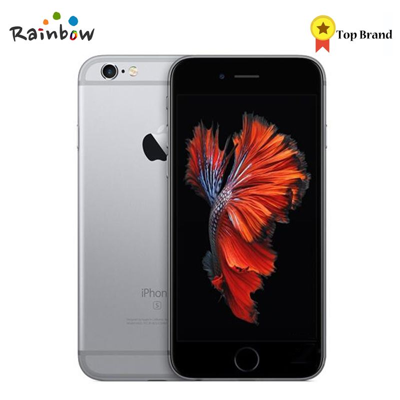 Original Apple iPhone 6s 4G LTE IOS Cellphone Dual Core 2GB RAM 4.7 inch Screen with 12MP Rear Camera 5MP Front Camera