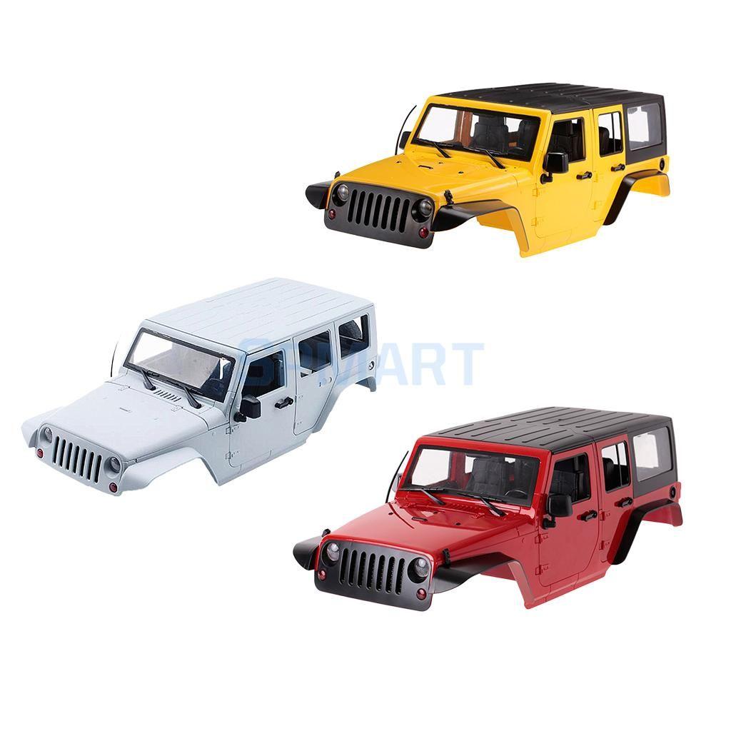 RC Rock Crawler 1/10 Car Shell Body Frame Case for Axial SCX10 RC4WD D90 D110 Hard Plastic Wheelbase 313mm DIY Car Parts