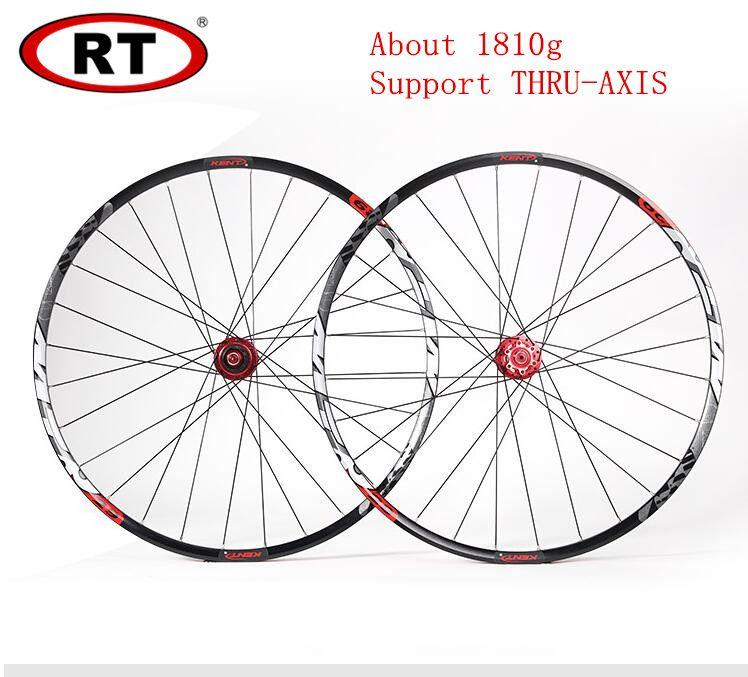 MTB mountainbike ultraleichte 29 zoll abgedichtete lager thru achse rad räder laufradsatz Felge