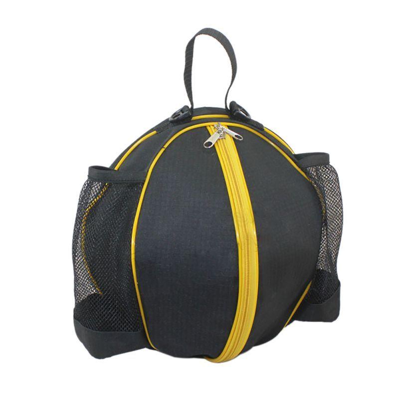 2017 NEW High-quality Round Shape Balls Bag Basketball and Football Backpack Adjustable Shoulder strap Bag