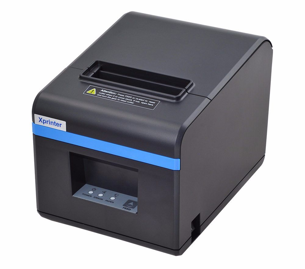New arrived 80mm auto cutter receipt printer POS priner USB port or Ethernet port