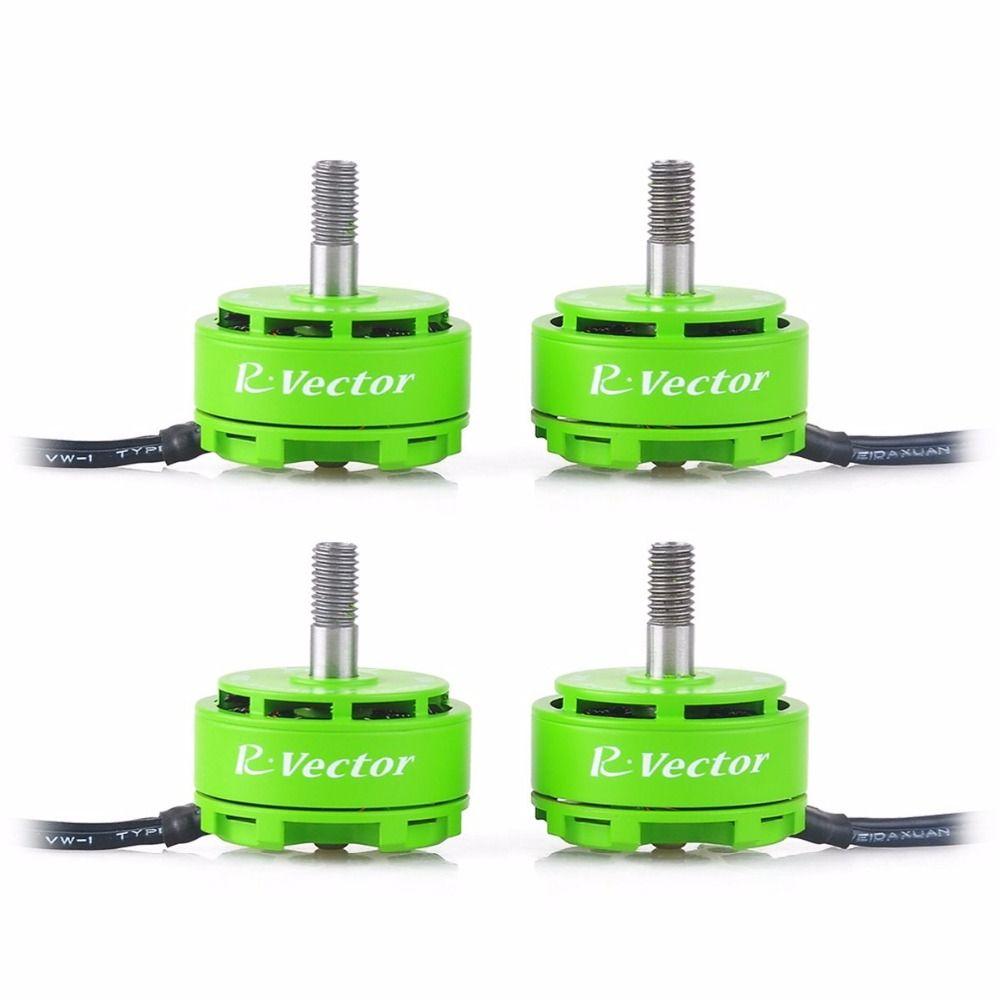 4pcs 2306 Brushless Motor White Green AOKFLY RV Series 2400KV/2650KV For FPV <font><b>Drone</b></font> QAV250 Quadcopter Multirotor RC Toys