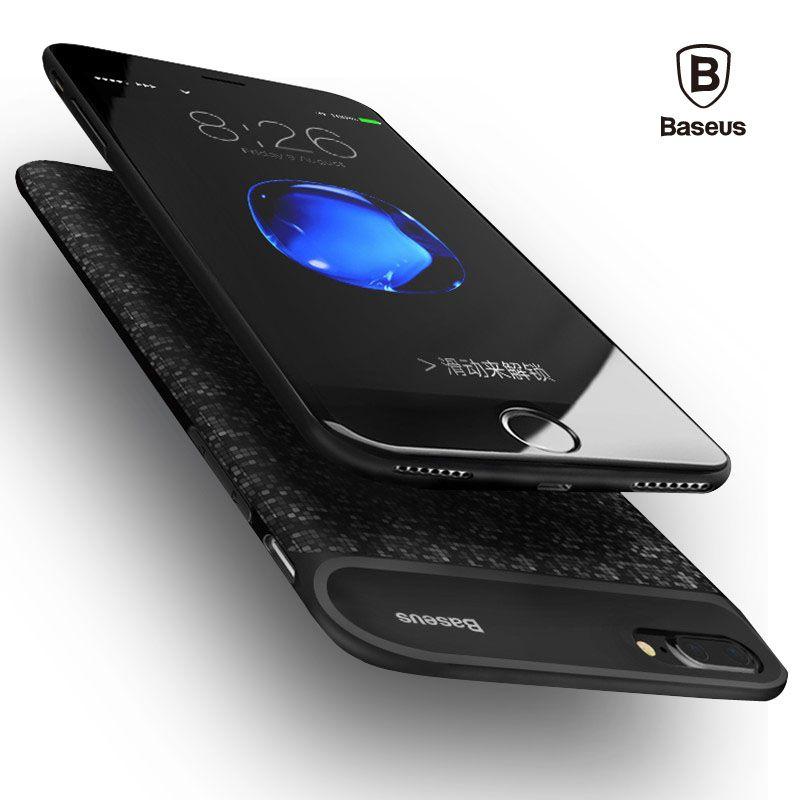 Baseus pour iPhone 7 7 Plus étui 2500/3650 mAh batterie externe chargeur de secours étui pour iPhone 6 6 S Plus batterie externe Portable