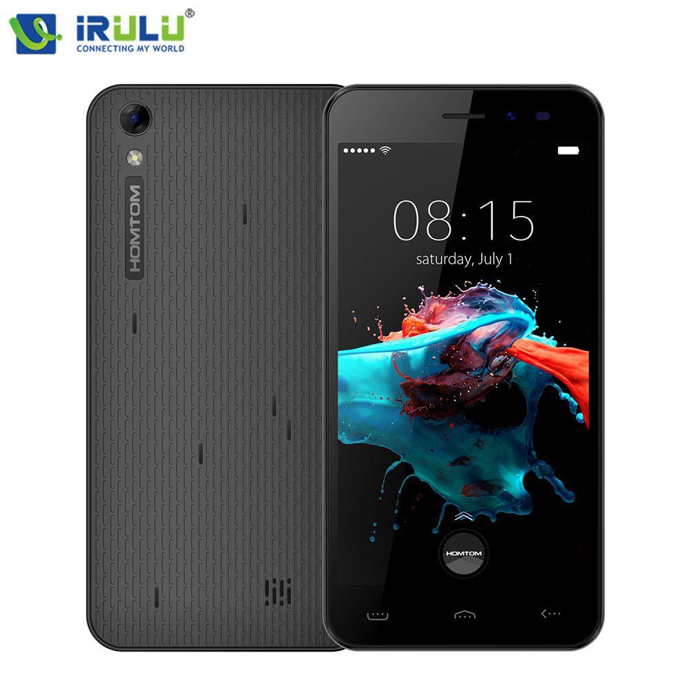 HOMTOM HT16 1 GB + 8 GB ROM Celular 1280x720HD MT6580 de Usuario Más Suave 5.0 ''Android 6.0 Quad Core Bajar 20% del Consumo de Energía