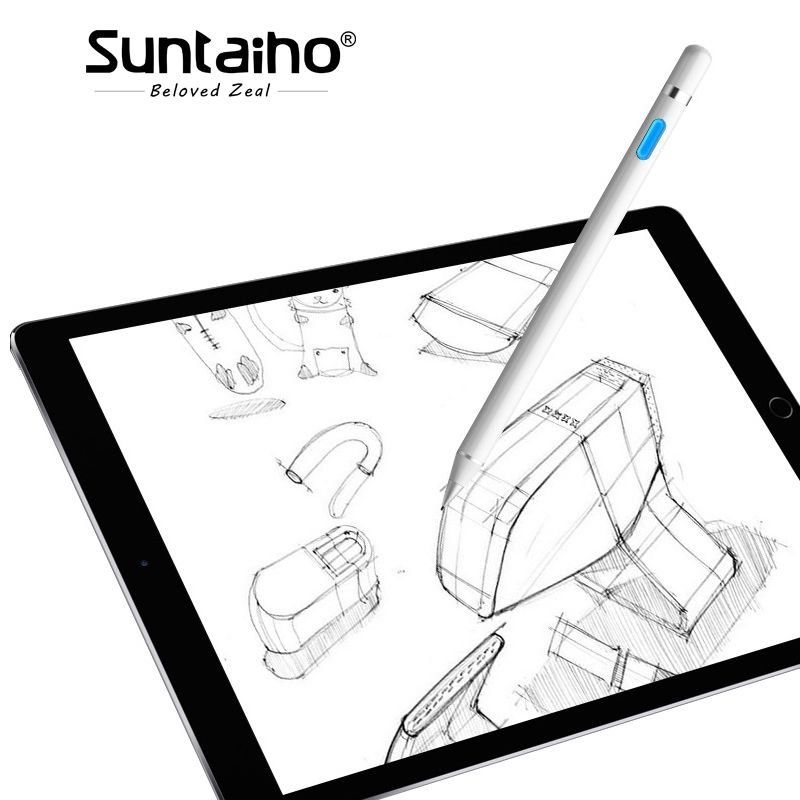 Suntaiho for apple pencil Stylus Pen Active Universal Capacitive Touch Pen Screen devices for iPhone <font><b>iPad</b></font> Tablet Huawei Xiaomi
