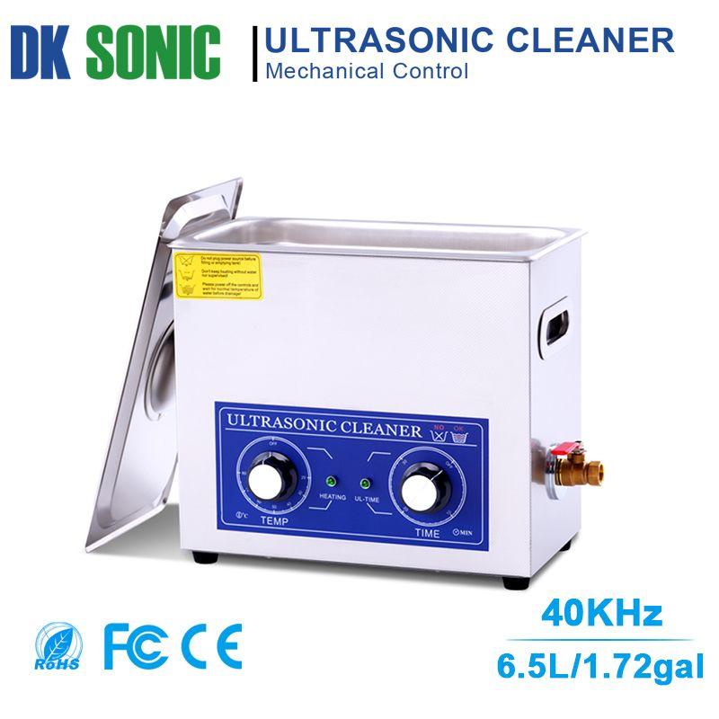6.5L 180 watt Ultraschall Reiniger Heizung Timer Knob Steuerung Ultraschall Bad für Motor Teile Moto/Auto teile Kraftstoff Injektor rekord
