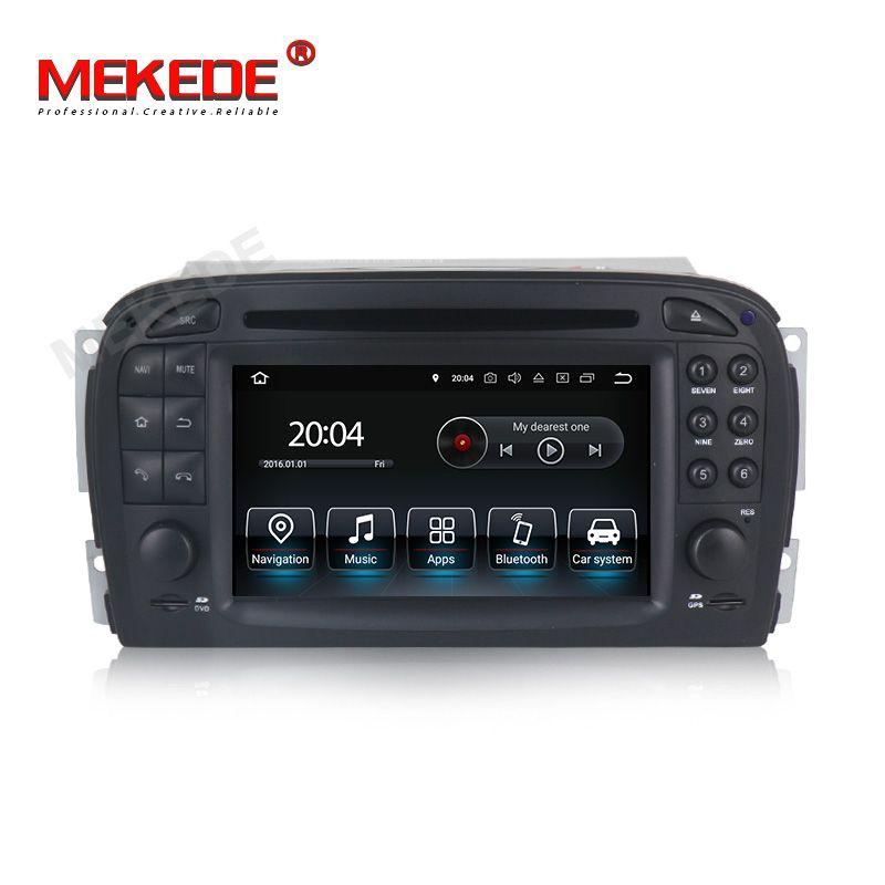 Mekede android 9.0 Auto GPS Navigation Auto radio DVD player Steuergerät Für Mercedes Benz SL R230 SL500 2001-2007 multimedia player
