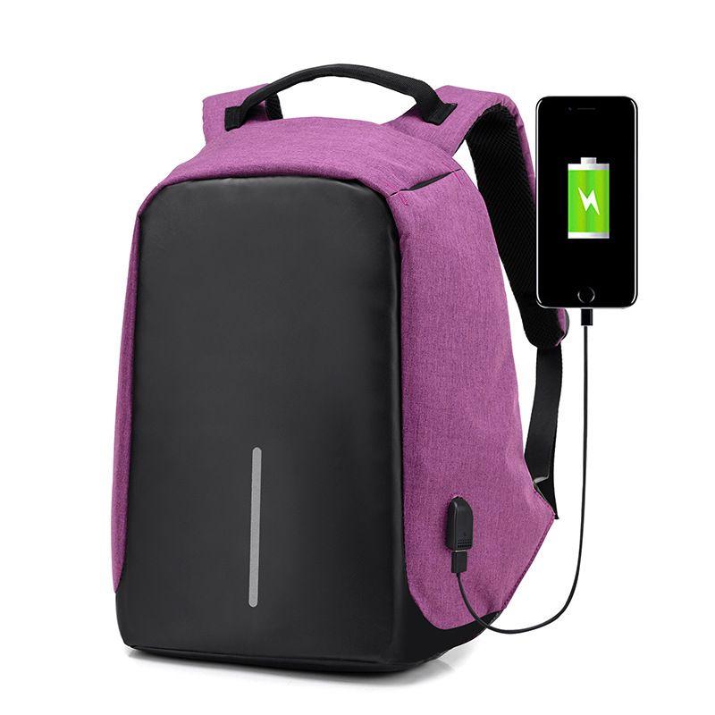 High Quality Men Backpacks Oxford Anti Theft Backpack Women Bag USB Charge 15Inch Laptop Mochila Waterproof Travel SAC Back Pack