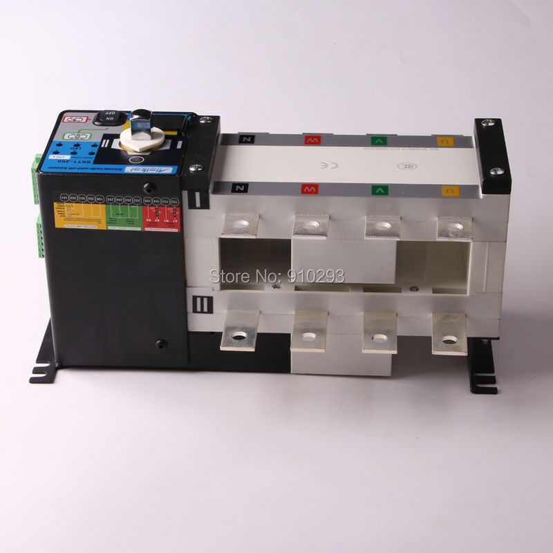 250A 300A Genset Control Cabinet ATS Automatic Transfer Switch 4P