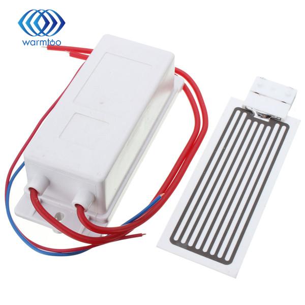 NOUVEAU AC 220 V 10 g/h fournir Plaque De Céramique Générateur D'ozone Kit Purificateur D'air