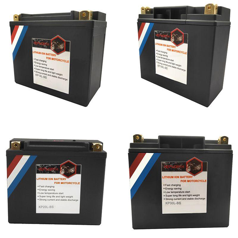 12V LiFePO4 Motorrad Batterie 14Ah 20Ah 30Ah CCA 520A 620A 720A Lithium-eisen Motorrad Starten Batterie BMS Spannung schutz