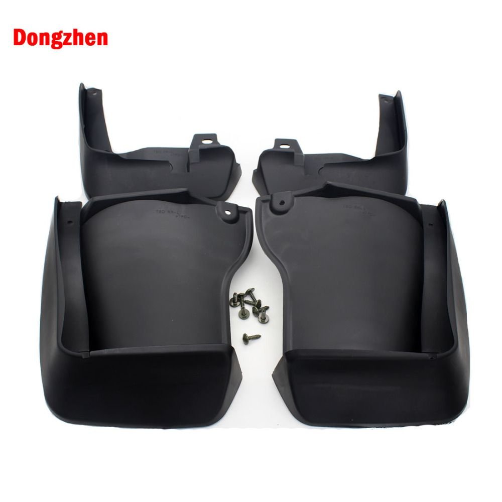 Dongzhen 4pcs Auto Mud Guard Splash Flap Car Kit Mudguard Mudflaps Fender For Honda Accord 2008 -2013 Exterior Accessories