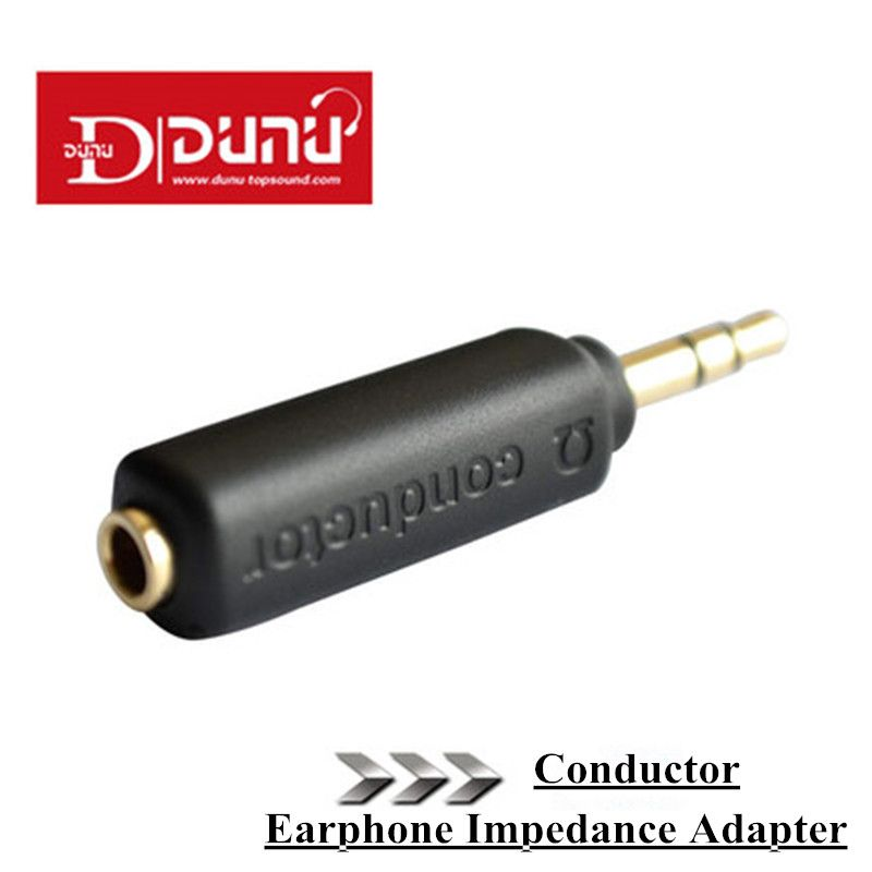 Earphone Impedance Plug Original Dunu Conductor 75/150/200 ohm Noise Cancelling adapter 3.5mm Jack for Hifi Player Music Plug.