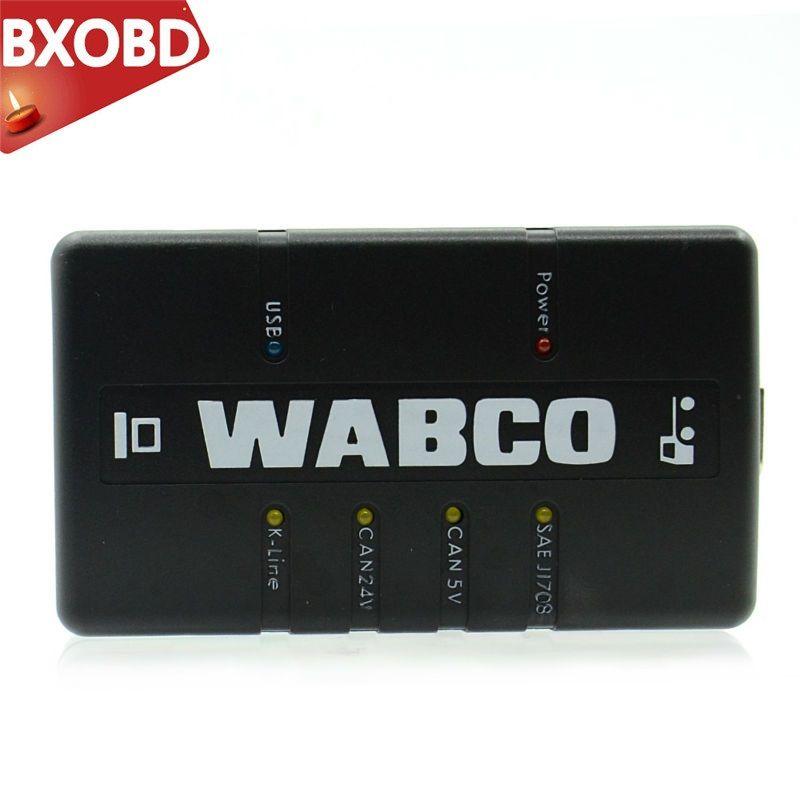 IN AKTIEN WABCO DIAGNOSE-KIT (WDI) WABCO Trailer und OBD2 Lkw Scanner WABCO Heavy Duty Diagnose Werkzeug