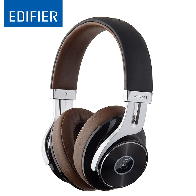 EDIFIER W855BT Over-ear Bluetooth Headphones Stereo Music Wireless Headphone BT 4.1 with Mic 3.5mm AUX Cable Gaming Head