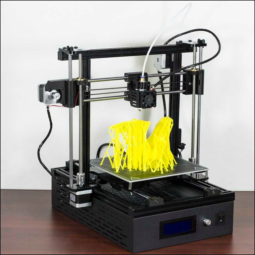 DMSCREATE DP4 3D Printer KIT 200*200*180,10 Mins install,24V Power supply,200W Hot bed,Best cost-effective 3D Printer
