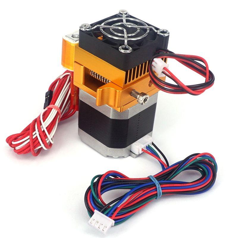 12 v MK8 Extruder für 3D Drucker mit 0,2mm 0,3mm 0,4mm Nozzlz J-kopf Extrusion Motor kehle 3D Drucker Teile