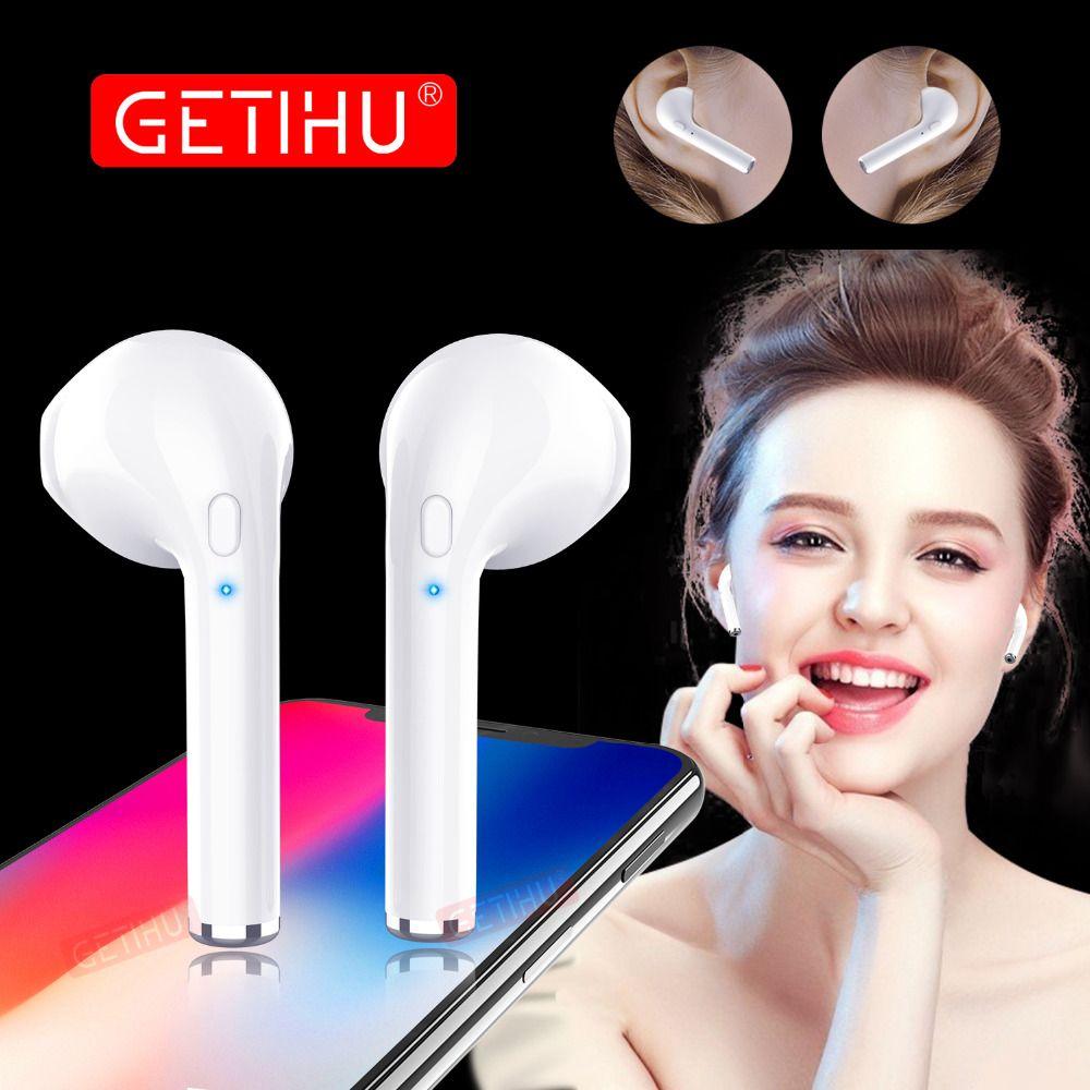 Mini Jumeaux Casque Bluetooth Écouteurs Téléphone Sport Casque mini-Écouteurs Sans Fil Écouteurs Écouteur Pour iPhone Samsung stéréo