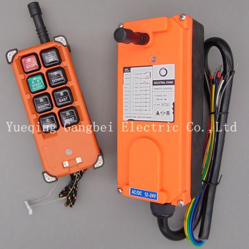 F21-E1B    Hoist crane remote control wireless radio Uting remote control 380VAC 220VAC 36VAC  12VDC-24VDC