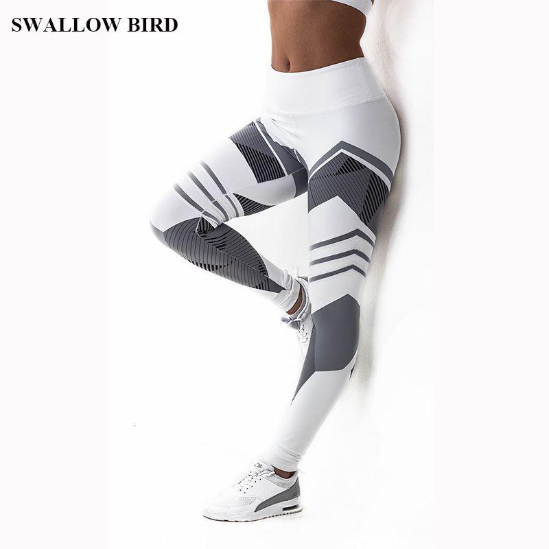 2018 NEW Hot 3D print High waist legging women workout fitness leggings Push Up jeggings women slim sexy Pants legins femme