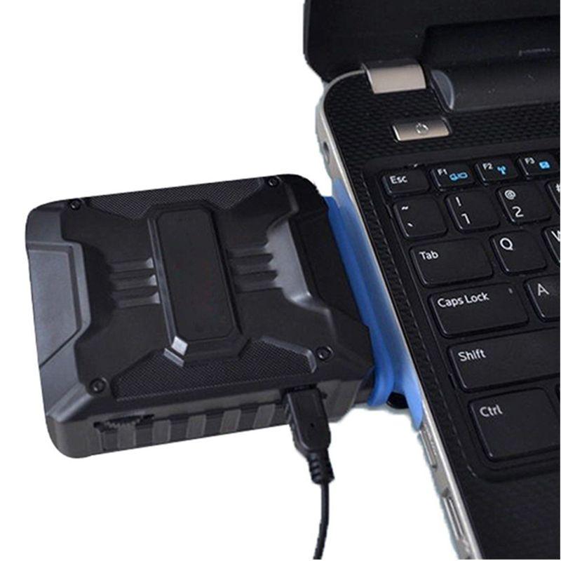 Hot Laptop Cooler Exhaust Processor cooling Fan USB Air Cooler Heatsink Radiator Extractor CPU Cooler for Notebook Laptop Gadget