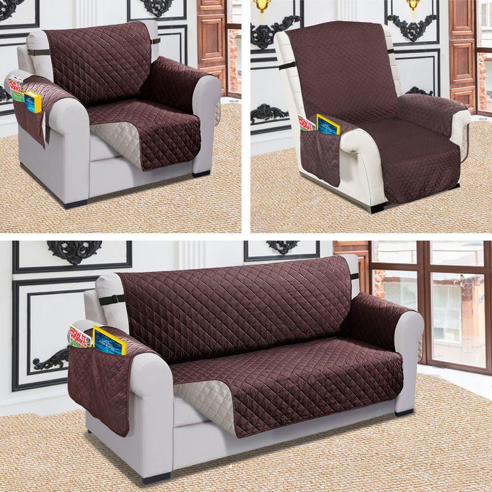Inclinable canapé canapé couverture Pet chien enfants tapis protecteur canapé couverture imperméable matelassé réversible canapé couvre pour salon