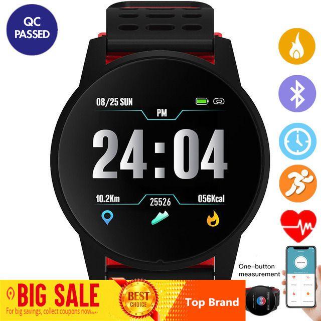 Top Sport Smart Uhr Männer Frauen Herz Rate Monitor Blutdruck Fitness Tracker Smartwatch GPS Sport Uhr für Android Ios