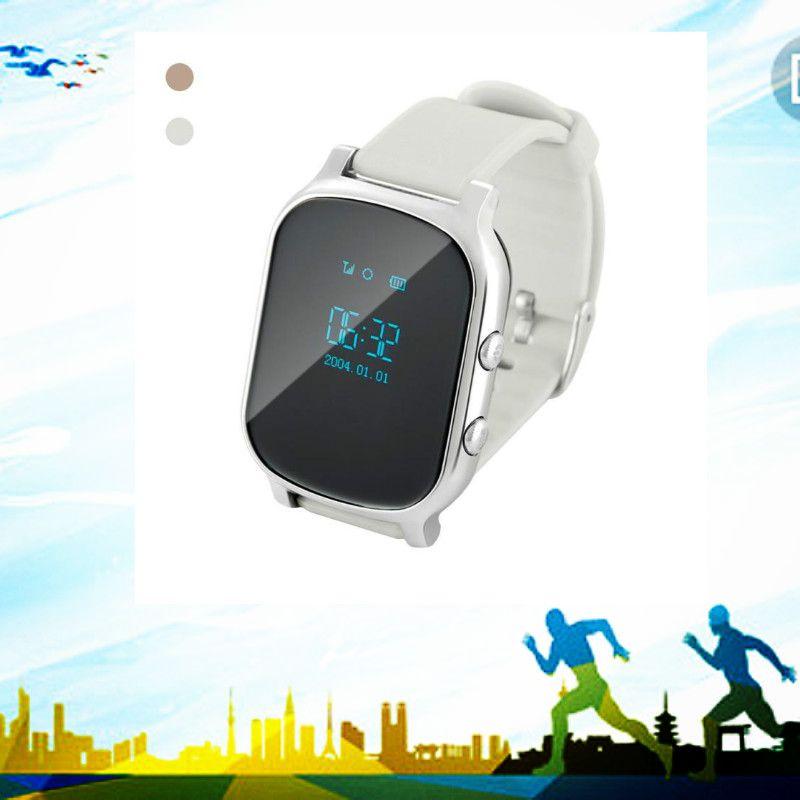 2018 Мода Смарт детская Watch Sport мальчик и девочка GPS Wi-Fi SOS наручные Винтажные часы Curren Kid Смотреть 112394