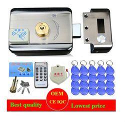 20 PC Label DC12V Pintu & Gerbang Sistem Kontrol Akses Terpadu Elektronik RFID Pintu Rim Mengunci Jarak Jauh Access Pengendali Elektronik mengunci