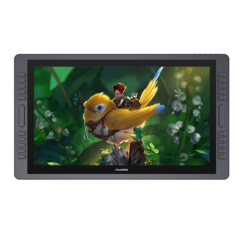 HUION KAMVAS GT-221 Pro 8192 Ebenen Stift Display Zeichnung Tablet Monitor IPS LCD HD Bildschirm 10 Drücken Tasten-21,5 zoll