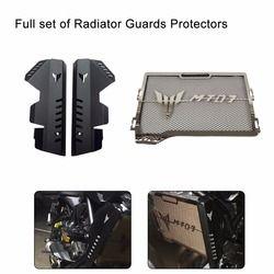 Pour Yamaha MT-07 MT07 MT 07 FZ-07 FZ07 2013-2017 Plein ensemble de Radiateur Grill Grille Guard Protecteur 100% Marque nouveau