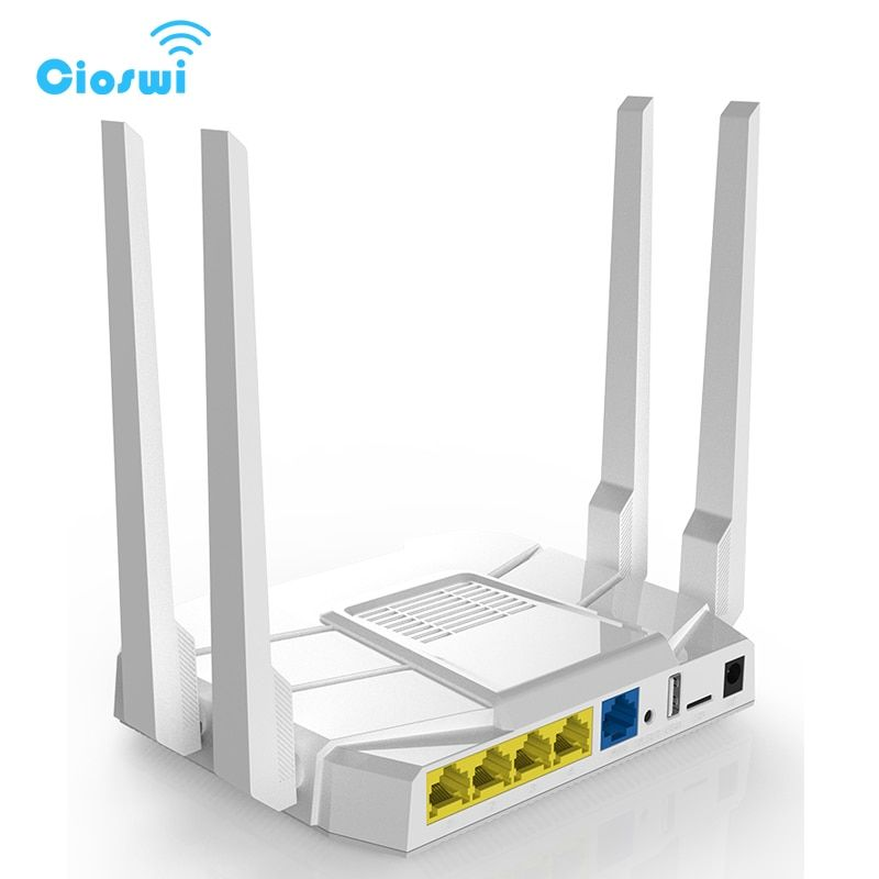 5G Gigabit wireless 3g 4g lte wi fi router 11ac dual band 1200Mbps openWRT router with 16MB Flash 512M RAM FDD/TDD LTE/WCDMA/GSM