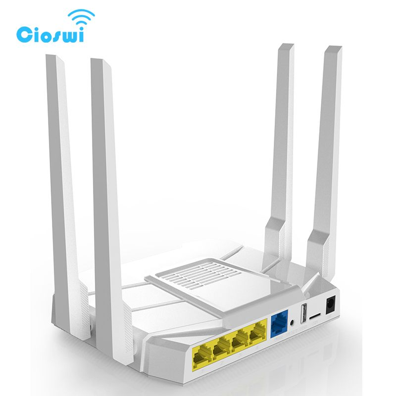 5g Gigabit wireless 3g 4g lte wi fi router 11ac dual band 1200 Mbps openWRT router mit 16 mb Flash 512 mt RAM FDD/TDD LTE/WCDMA/GSM