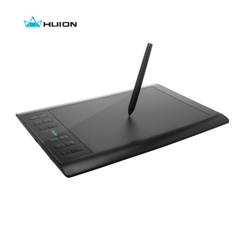 <font><b>Huion</b></font> 1060 PRO+ 10 Digital Graphic Tablets Signature Tablet Professional Animation Drawing Board Grafica Tableta With 4G Memory