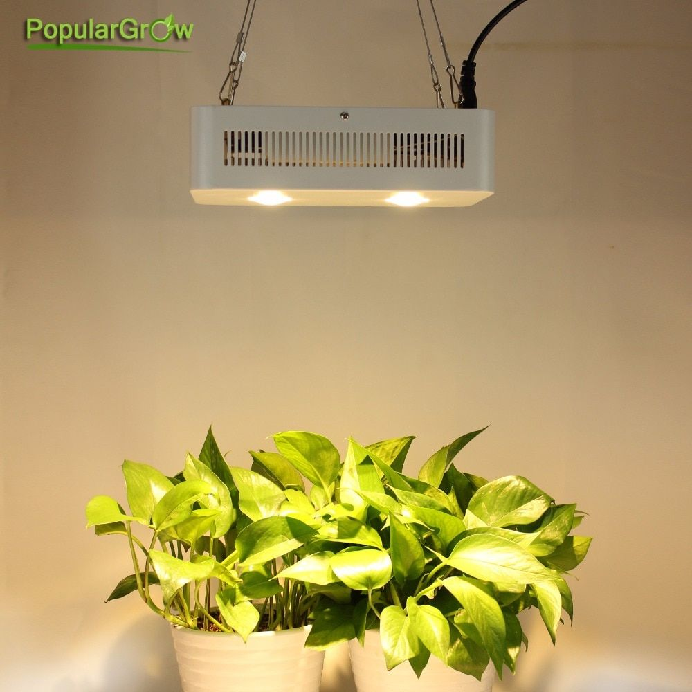 populargrow CREE chip 400W full spectrum COB led grow light for hydroponic greenhouse tent commercial medical plants growth