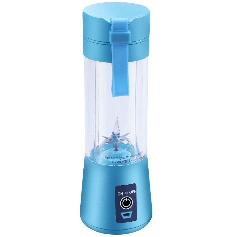 400 ml mélangeur de jus Portable USB presse-agrumes tasse multi-fonction mélangeur de fruits Six lames malaxeur Smoothies bébé livraison directe de nourriture
