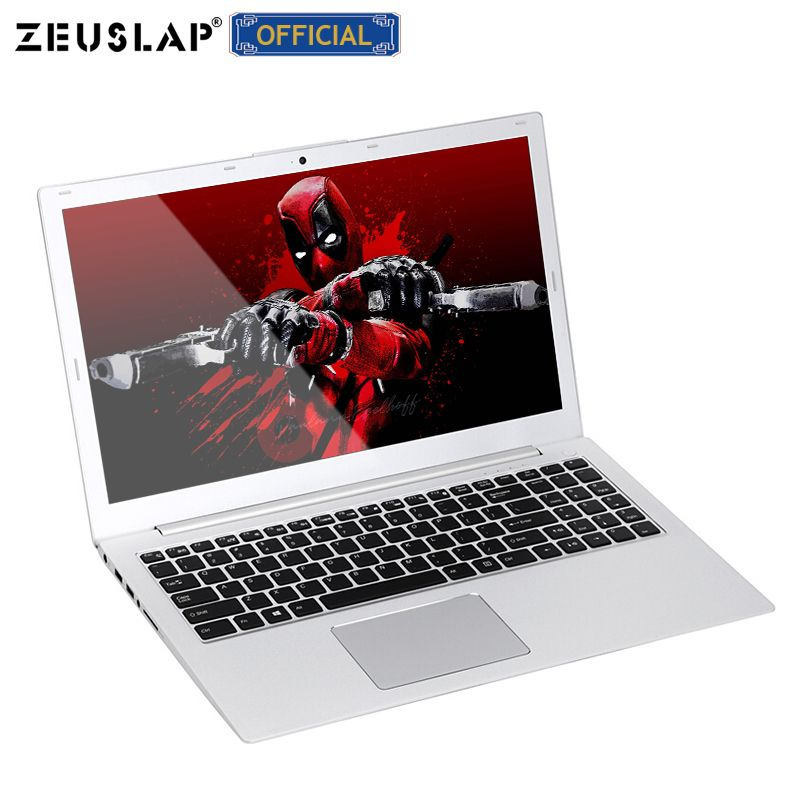 ZEUSLAP 15,6 zoll 8 GB RAM + 128 GB SSD + 1 TB HDD Intel Core i7-6500U 9,7-zoll-ips-bildschirm-pad GT940M Ultradünne metall Gaming Laptop Notebook Computer