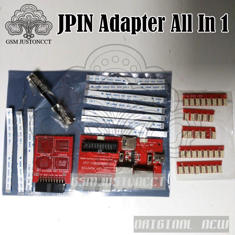 EINFACH JPIN 35 IN 1 mit Isp 5 In 1 Adapter für RIFF ORT GPG MEDUSA JTAG BOX/Entsperren & Flash & Reparatur handy software