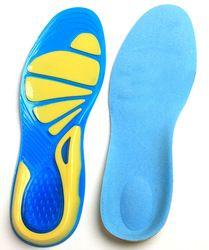 Perawatan kaki untuk Plantar Fasciitis Heel Spur Menjalankan Sport Sol Penyerapan Shock Bantalan lengkungan insole ortopedi Kualitas Tinggi