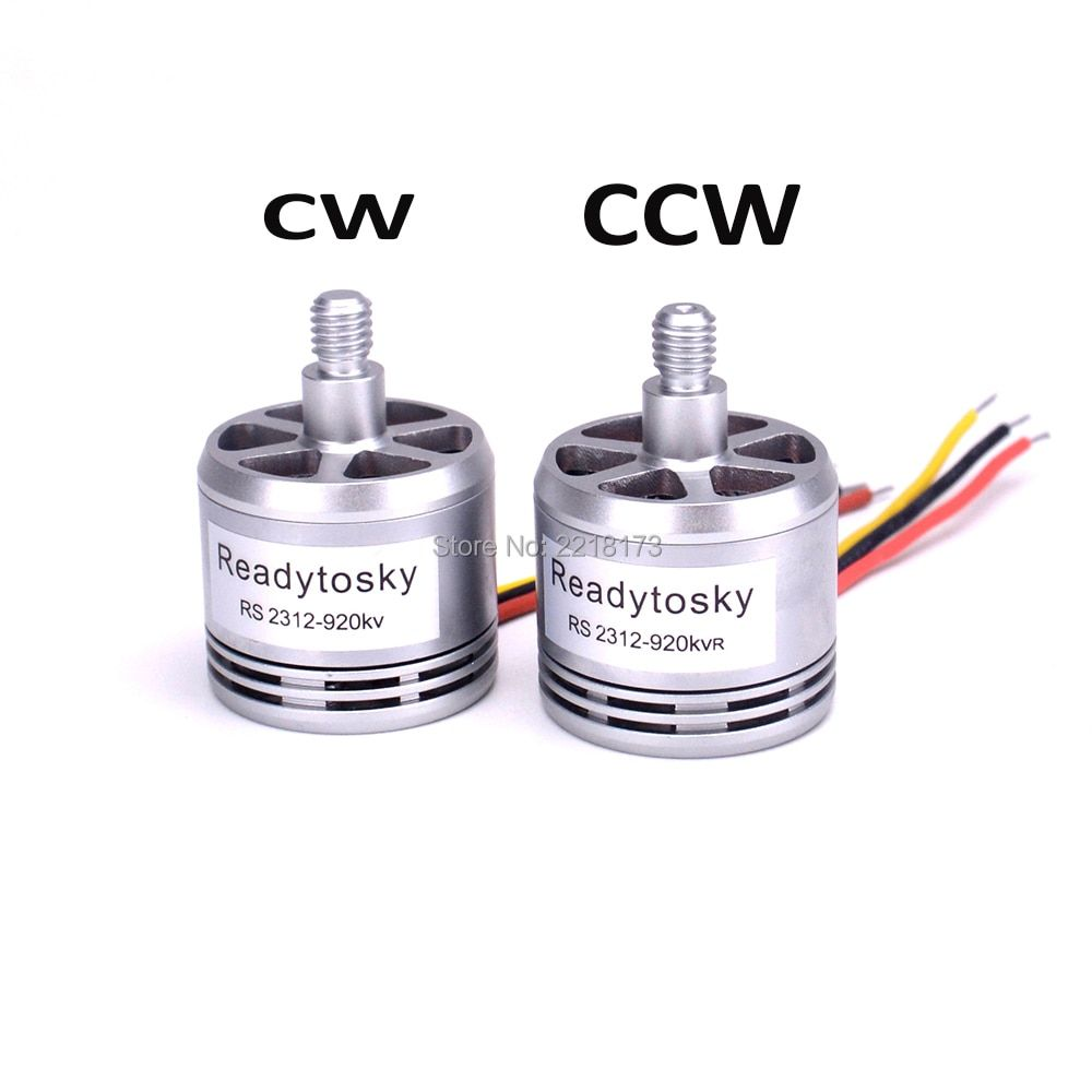 New RS2312 2312 920KV Brushless Motor CW CCW 2-4S support 9450 propeller for F450 X500 Quadcopter