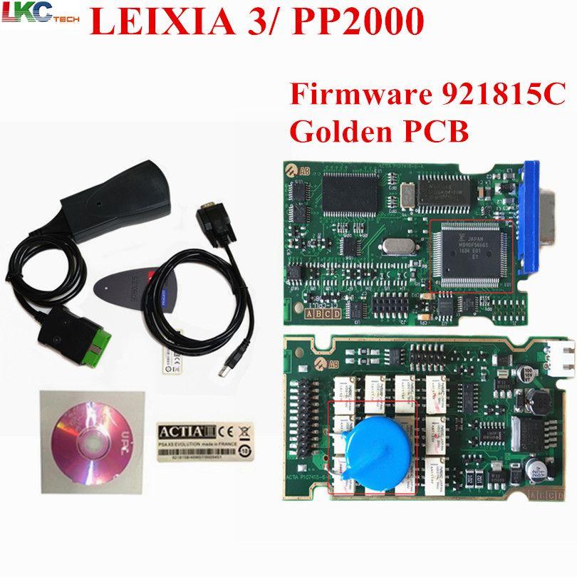 2018 Newest Lexia3 with Serial 921815C Firmware Golden PCB lexia lite PP2000 Lexia 3 Diagbox V7.83 Lexia3 diagnostic tool