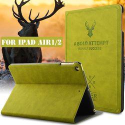 RBP Для IPad air 2 защитная крышка ретро полотна серии для apple iPad 5 6 защитная крышка 9.7-дюйм Для iPad air 1 защитный чехол защитная крышка all-inclusive smart sleep ...