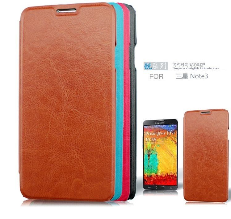 Wholesale 5Pcs Leather Phone Case for Samsung Galaxy Note3 N7200 N9006 N9002 N9000 Flip Cell Phone For Samsung Galaxy Note3 Case
