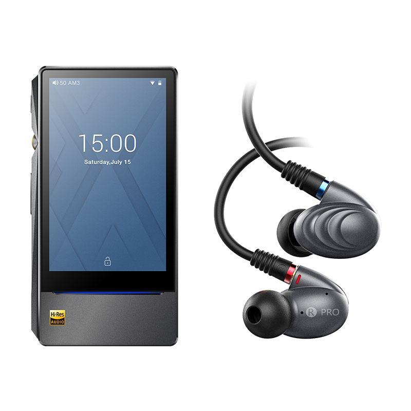 Bundle Verkauf von X7II + F9ro FiiO Android Musik player X7 II mit balance am3a mit Triple Fahrer Hybrid In-ohr kopfhörer F9PRO