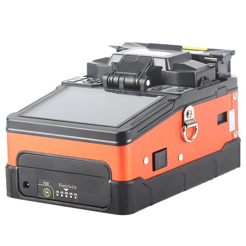 Neue produkt A-81S FTTH Fiber Optic Schweißen Spleißen Maschine Optical Fiber Fusion Splicer