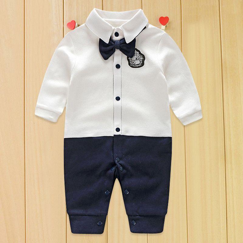 Enfant en bas âge Bébé Barboteuses Automne Roupas Infantile Combinaisons Garçon Ensembles de Vêtements Nouveau-Né Bébé Vêtements Printemps Coton Bébé Fille Vêtements