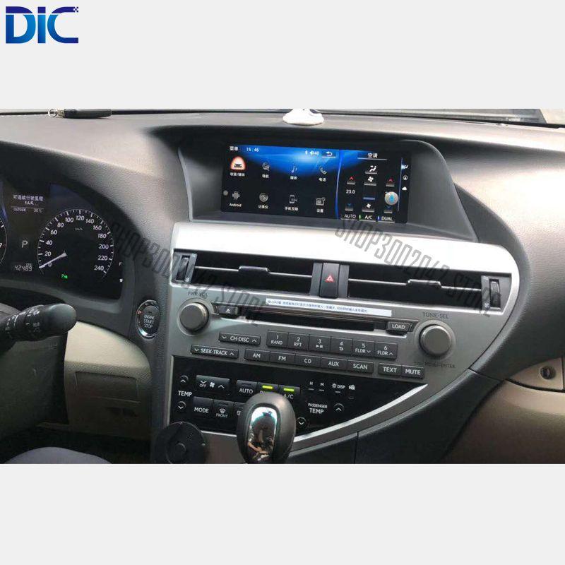 DLC Android system Navigation GPS player Video autoradio Lenkung-Rad radio auto styling Für Lexus 2009-2014 RX 270 350